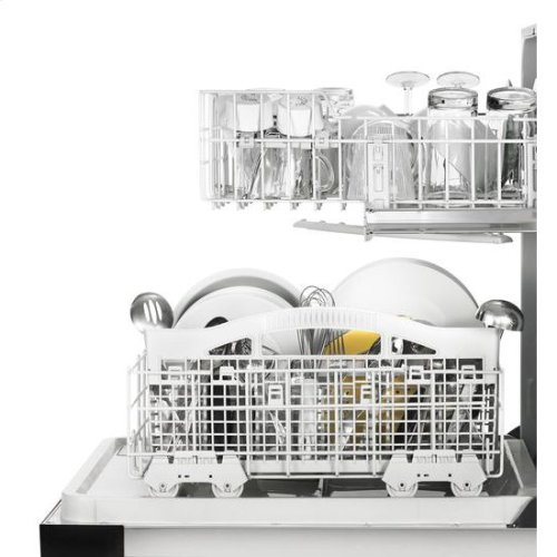 Whirlpool® Heavy-Duty Dishwasher with 1-Hour Wash Cycle - Universal Silver