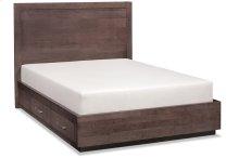 Ironwood Single Panel Storage Bed, California King