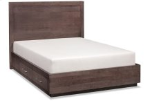 Ironwood Single Panel Storage Bed, California King