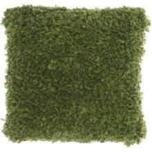 """Shag Dl660 Green 20"""" X 20"""" Throw Pillows"""