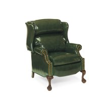 Addison Bustle Back Ball and Claw Recliner