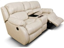 Litton Double Rocking Reclining Loveseat Console 201090L