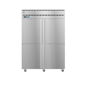 HoshizakiPT2A-HS-HS, Refrigerator, Two Section Pass Thru Upright, Half Stainless Doors with Lock