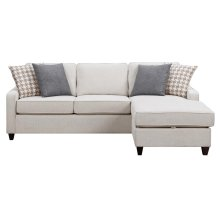Montgomery Transitional Cream Sectional