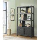 Perspectives - Bookcase Etagere - Ebonized Acacia Finish Product Image