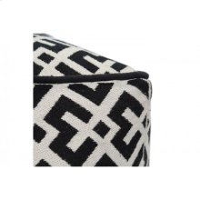 Black & White Pouf