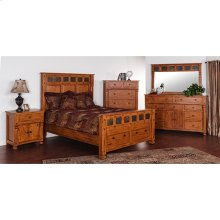"Sedona Queen Bed 69"" X 91"" X 67""h"