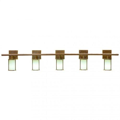 Lantern Vanity - Round Globe - V450-68 Silicon Bronze Rust