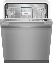 G 4977 Vi SF AM Fully-integrated, full-size dishwasher with hidden control panel, cutlery basket and CleanTouch Steel panel