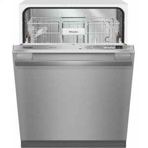 MieleG 4977 Vi SF AM Fully-integrated, full-size dishwasher with hidden control panel, cutlery basket and CleanTouch Steel panel