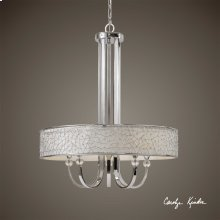 Brandon, 5 Lt Single Shade Chandelier