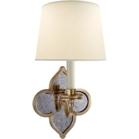 Visual Comfort AH2040NB-PL Alexa Hampton Lana 1 Light 6 inch Natural Brass Decorative Wall Light