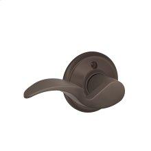 Avanti Lever Non-turning Lock - Oil Rubbed Bronze
