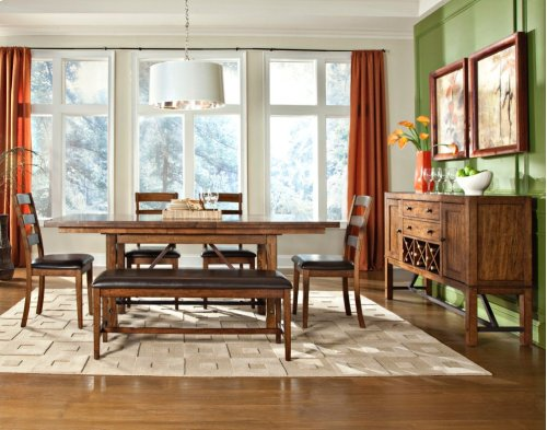 Santa Clara Trestle Dining Table