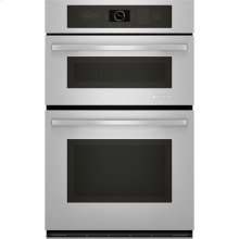 "Combination Microwave/Wall Oven with MultiMode® Convection, 27"", Euro-Style Stainless Handle"