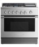 """Gas Range 36"""", 4 Burners with Griddle (LPG) Product Image"""