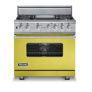 "36"" Sealed Burner Dual Fuel Range, Natural Gas"