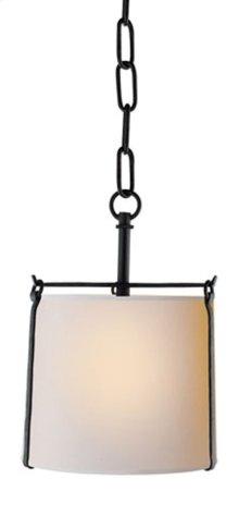 Visual Comfort S5031BR-NP Ian K. Fowler Aspen 1 Light 9 inch Hand Painted Blackened Rust Hanging Shade Ceiling Light