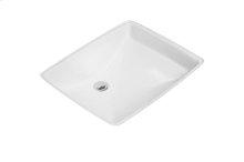 Undercounter washbasin Angular - White Alpin