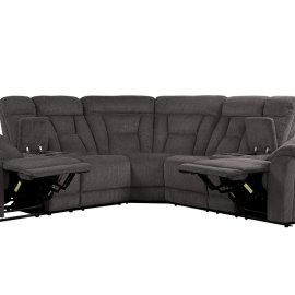 3-Piece Sectional Set: 2LCN + CR + 2RCN