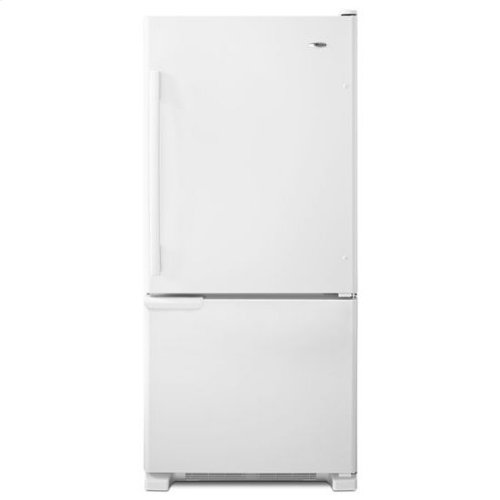 18.5 cu. ft. Bottom-Freezer Refrigerator with ENERGY STAR® Qualification - white