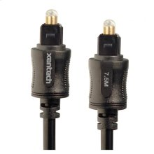 Xantech EX Series TOSLINK Cable (7.5m)