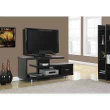 """TV STAND - 60""""L / CAPPUCCINO WITH 1 DRAWER"""