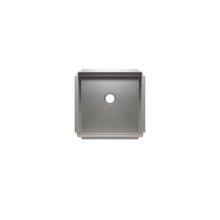 """J7® 003931 - undermount stainless steel Bar sink , 15"""" × 15"""" × 7"""""""