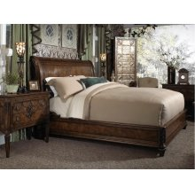 Sleigh King Bed