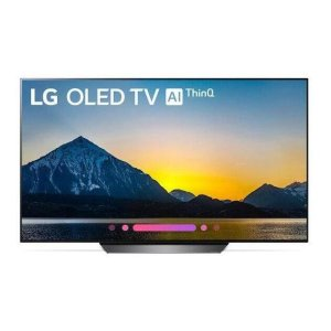"LG AppliancesB8PUA 4K HDR Smart OLED TV w/ AI ThinQ® - 55"" Class (54.6"" Diag)"