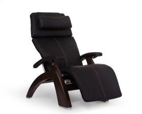 Perfect Chair PC-600 Omni-Motion Silhouette - Black SofHyde - Dark Walnut