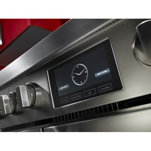 """Jenn-Air® Pro-Style® 48"""" Dual-Fuel Range with Griddle and MultiMode® Convection - Pro Style Stainless"""