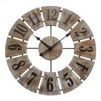 Rustic Charm Wall Clock Product Image