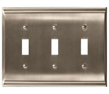Candler 3 Toggle Wall Plate
