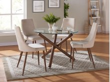 Rocca/Cora 5pc Dining Set