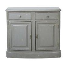 Grey Distressed Door Cabinet