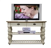 Coventry Console Table Weathered Driftwood/Dover White finish Product Image