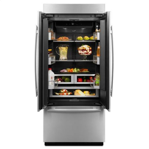 36-Inch Built-In French Door Refrigerator