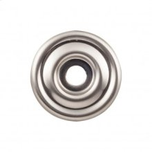 Brixton Backplate 1 3/8 Inch - Brushed Satin Nickel