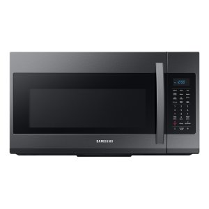 Samsung Appliances1.9 cu ft Over The Range Microwave with Sensor Cooking in Black Stainless Steel