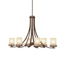 Hendrik Collection Hendrik 6 Light Chandelier - Olde Bronze