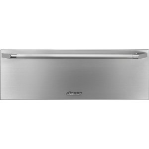 "DacorHeritage 30"" Epicure Warming Drawer, Silver Stainless Steel"