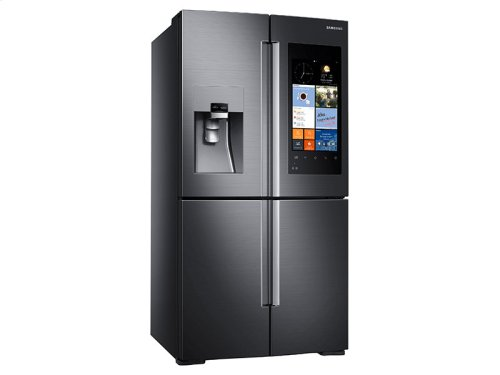 22 cu. ft. Counter Depth 4-Door Flex Refrigerator with Family Hub