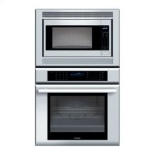 "30"" MASTERPIECE SERIES STAINLESS STEEL COMBINATION OVEN WITH A MICROWAVE AND TRUE CONVECTION OVEN"