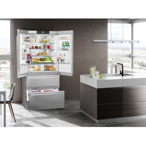"Liebherr36"" Fridge-freezer with NoFrost"