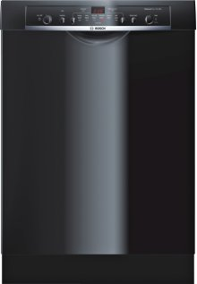 Bosch Ascenta Recessed Handle Dishwasher, 50 dBA, Adjustable Rack - Black (Scratch & Dent)