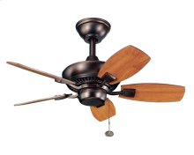 "Canfield 30"" Fan Oil Brushed Bronze"