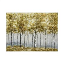 Mist Over Scribbly Gum Wall Art