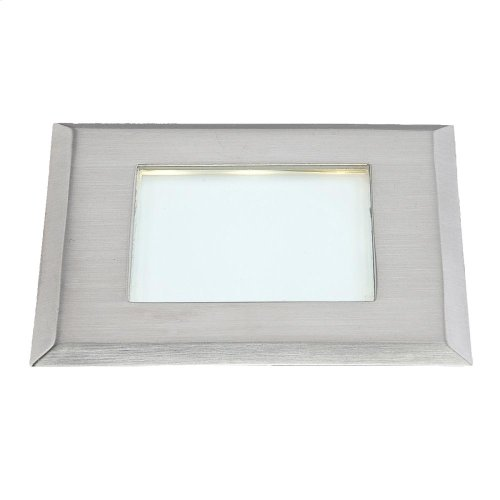 INFLOOR,0.5 W LED - Satin Nickel