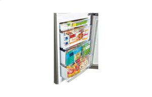 Coming Soon: 10.1 cu. ft. Capacity 2-Door Bottom Mount Refrigerator